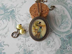 Sady šperkov - Vintage lady # 5 - ZĽAVA zo 6,70 eur - 8605630_