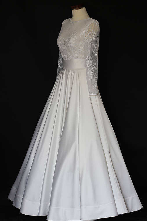 fb7e8e083e11 Svadobné šaty pre Kusnierka   Dyona - SAShE.sk - Handmade Šaty