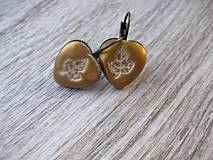 Náušnice - Bronzové jesenné - 8604490_