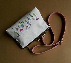 Detské tašky - s kvietkami - 8605843_