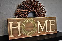 """Tabuľky - Romantická tabuľa """"HOME"""" - 8604013_"""