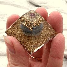 Dekorácie - Pyramida,*Achátové pohlazení* - 8608240_