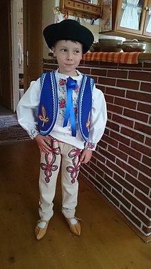 Detské súpravy - Folklórny odev - chlapčenský - 8608597_