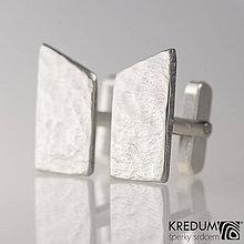 Šperky - Kované nerezové manžetové knoflíky - Rockboy - 8610106_