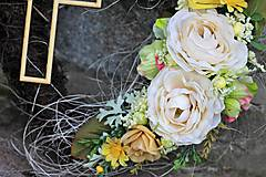 Dekorácie - Srdiečko na hrob - 8607812_