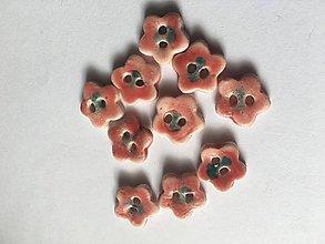 Drobnosti - kvetinkové gombíky - 8610731_