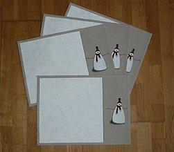 Úžitkový textil - Prestieranie so snehuliakom 6 - 8609712_