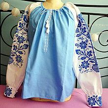 Košele - dámska vyšívaná košeľa Moletka - 8608349_