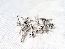 Komponenty - Strieborné eiffelovky - prívesky - 8607470_