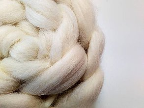 Textil - Cheviot - ovčia vlna, česanec 80g (80g) - 8608105_