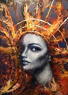 Grafika - Podzimní královna - 8607373_