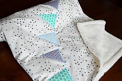Textil - Deka s vlajkami - 8607421_