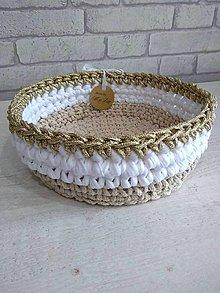 Košíky - košík Moly zlatá kolekcia \