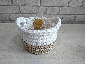 Košíky - košík Moly s uškami - 8609248_