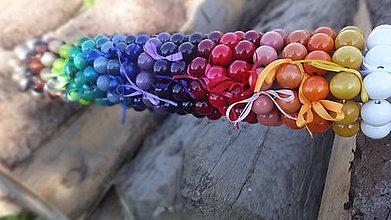 Náramky - Multicolor korálkové náramky - 8609387_