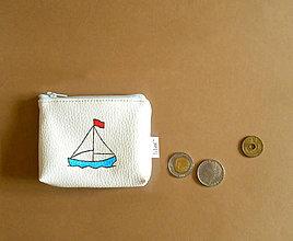Peňaženky - s loďkou - 8608670_