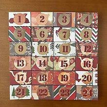 Krabičky - Adventný kalendár krabičky I - 8607413_
