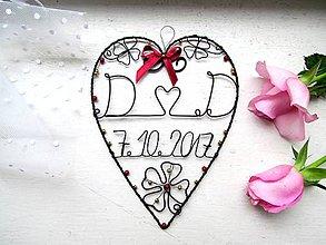 Dekorácie - ku svadbe *17 cm - 8609410_