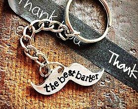 Kľúčenky - NOVINKA :) mini / BARBER - 8612398_