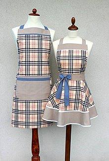 """Iné oblečenie - set záster  Mr. and Mrs. """"B"""" - 8611657_"""