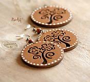Sady šperkov - Náušničky a prívesok ROSES - 8614371_