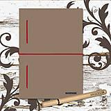 MADEBOOK kniha A5 - bordová gumička