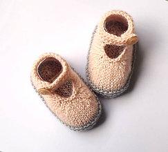 Topánočky - Papučky sandálky pre bábätko - 8612748_