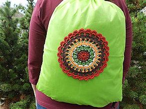 Batohy - Zelený ruksak - 8613055_