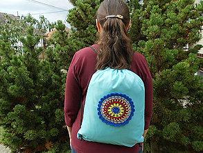 Batohy - Modrý ruksak - 8613069_