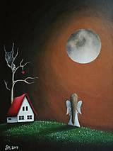 - Maľovaný anjelik IV - 8613535_