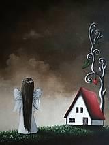 - Maľovaný anjelik VIII - 8613668_