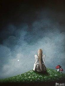 Obrazy - Maľovaný anjelik V - 8613572_