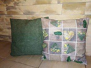 Úžitkový textil - Obliečky na vankúše dva - 8612310_