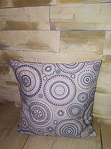 Úžitkový textil - Obliečky na vankúše mandaly - 8612373_