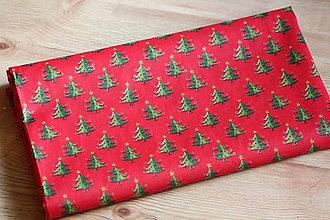 Úžitkový textil - Obrus. Vianočný adventný červený slávnostný. - 8611573_