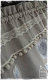 Úžitkový textil - Krátka záclona - 8611318_