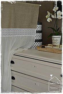 Úžitkový textil - Záves-záclona - 8611307_
