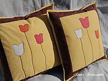 Úžitkový textil - Tulipány - 8614803_