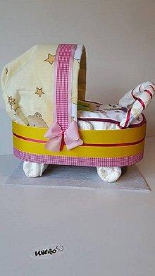 Detské doplnky - Plienkový kočiarik - 8617663_