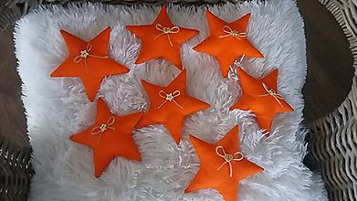 Dekorácie - Vianočné ozdoby hviezdy - 8617728_