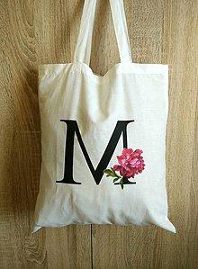 Nákupné tašky - Nákupná taška iniciála - 8617277_