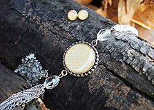 Sady šperkov - Béžová sada - 8617310_