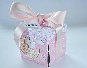 Papiernictvo - Exploding box k narodeniu dievčatka - 8617685_