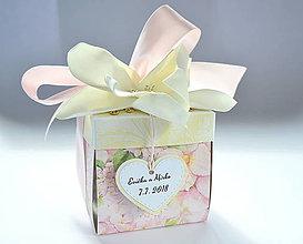 Papiernictvo - Svadobný exploding box - 8617864_