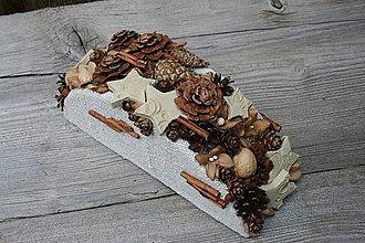 Dekorácie - šiško-dekorácia
