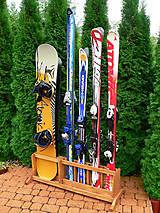 Stojan na lyže a snowboardy 4 + 2