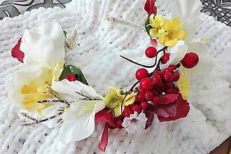 Ozdoby do vlasov - Kvetinová nádhera - 8618534_