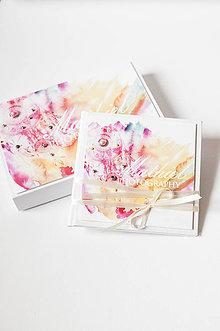 Papiernictvo - Foto set - krabička na fotky & CD obal - 8615623_
