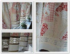 Úžitkový textil - Krátka záclonka - 8615359_