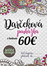Darčeková poukážka 60€